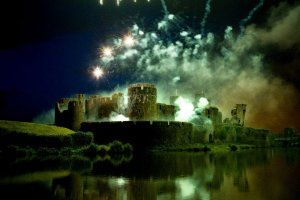 Caerphilly Feu d'artifice