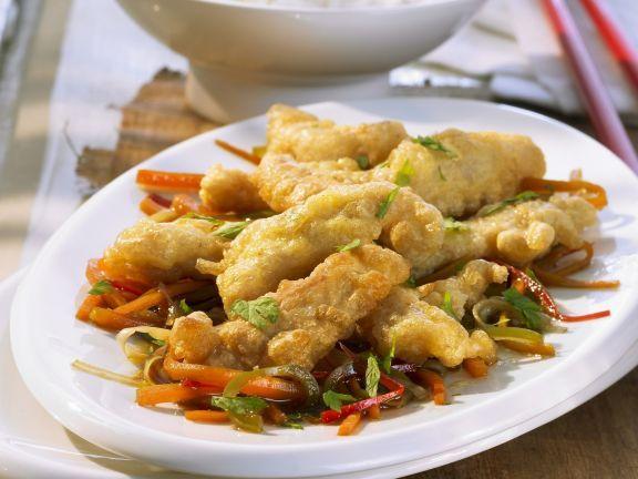 Soja-Geschnetzeltes in Teighülle ist ein Rezept mit frischen Zutaten aus der Kategorie Soja. Probieren Sie dieses und weitere Rezepte von EAT SMARTER!