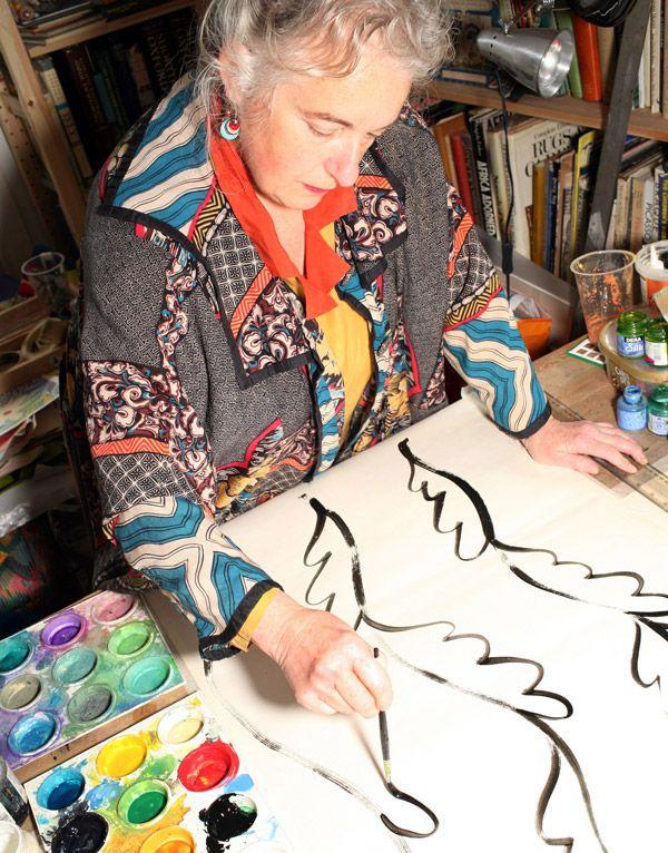 sarah campbell west elm liberty of london studio visit