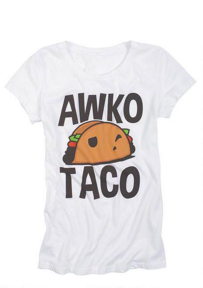 Awko Taco Tee - Funny - Graphic Tees - Clothing - dELiA*s