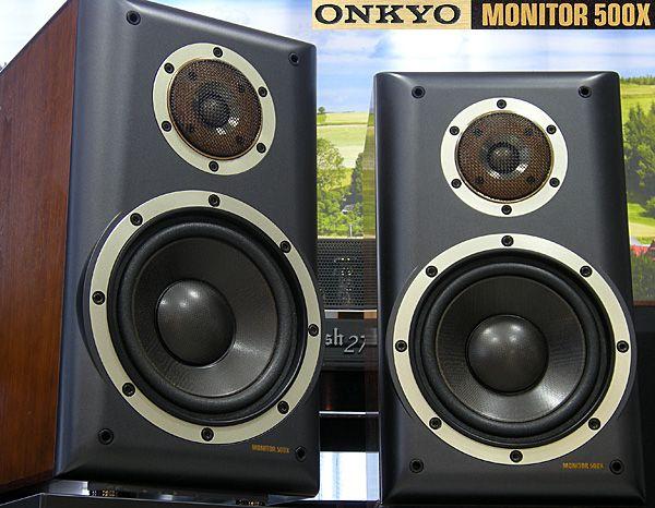 ONKYO MONITOR 500X