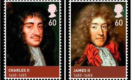 House of Stuart commemorative stamps