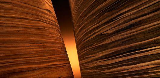 ALPIrobur é uma madeira ALPI folheada em melanina, especialmente criada para corresponder às exigências da alta resistência ao fogo e possuir o impacto visual de uma madeira natural.
