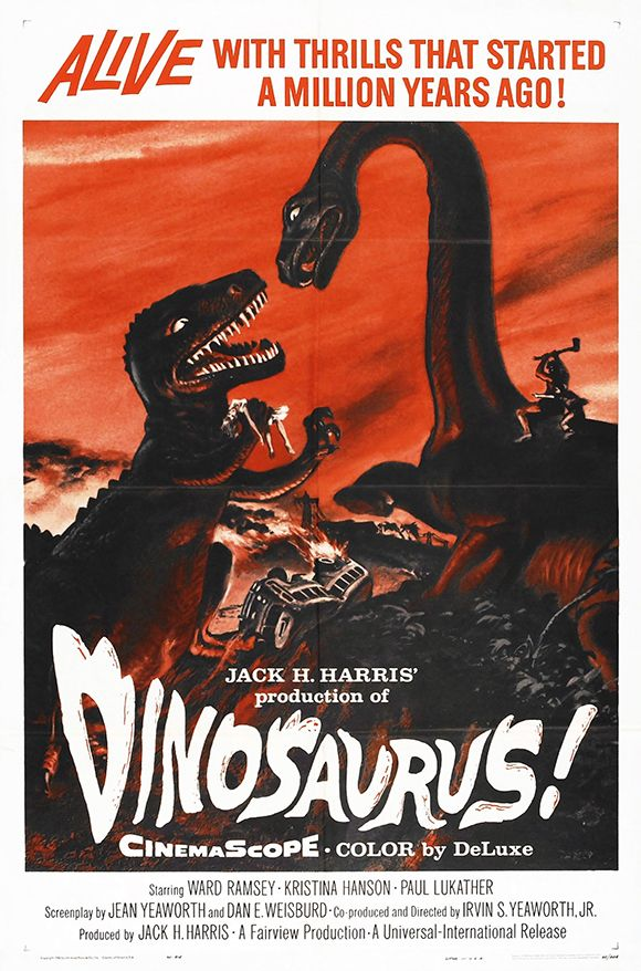 Dinosaurus! - Vintage Movie Poster