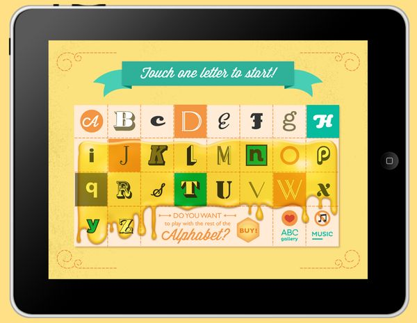 Little Bee's ABC - adorable children's app