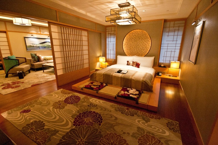 Gorgeous Asian Inspired Bedroom!