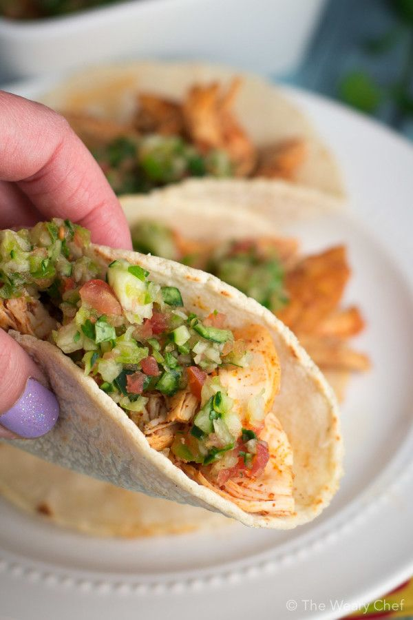 Check out Margarita Chicken Tacos. It's so easy to make ...