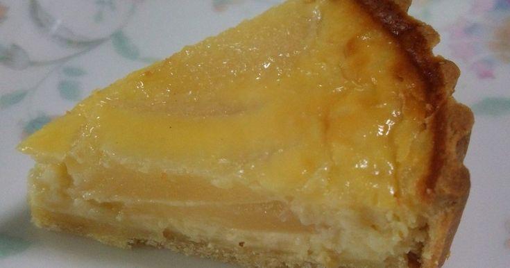 とろける洋梨のチーズケーキタルト by ふゆぴよ 【クックパッド】 簡単おいしいみんなのレシピが276万品