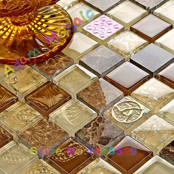 Las 25 mejores ideas sobre azulejos de mosaico de vidrio - Azulejos para mosaicos ...