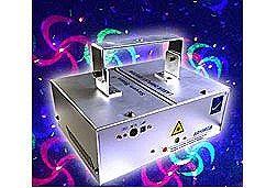 BigDipper K010RGB RGB Laser Lighting Effect - Displays Various Patterns