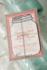 Mason jar wedding invite?