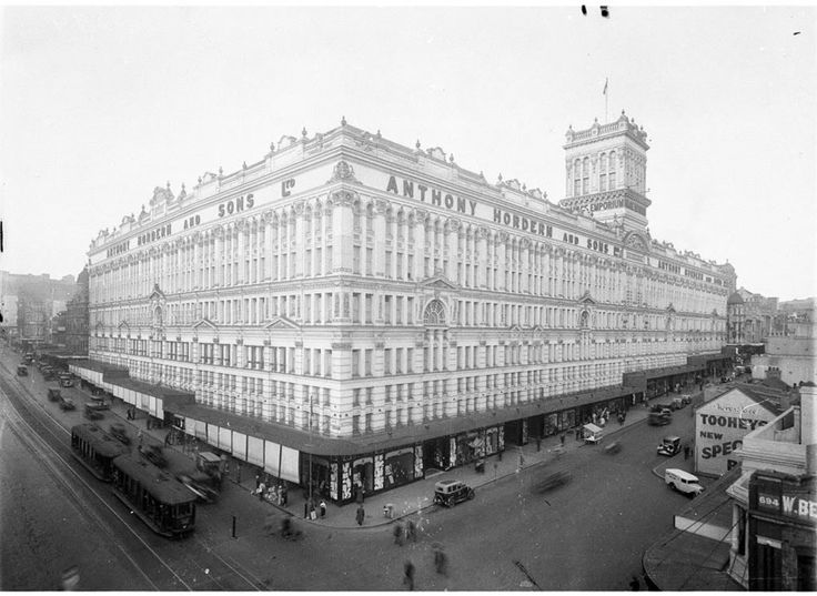 Former Anthony Hordern & Sons department store, Sydney, NSW, Australia