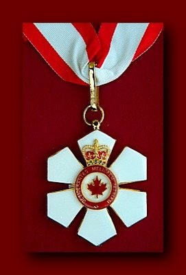 The Order of Canada (French: Ordre du Canada) is a Canadian national order, admission into which is, within the system of orders, decorations, and medals of Canada, the second highest honour for merit. It comes second only to membership in the Order of Merit, which is within the personal gift of Canada's monarch.