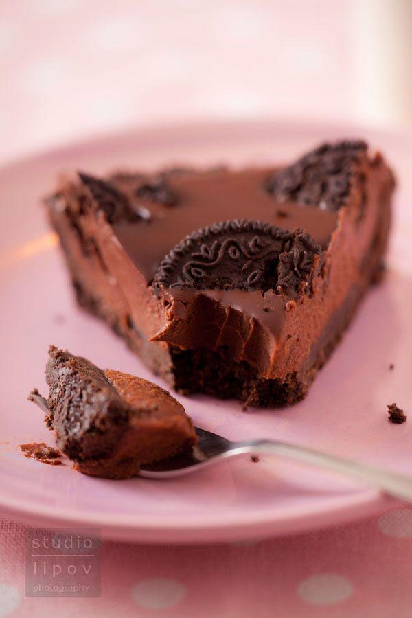 Bardzo prosta tarta czekoladowa bez pieczenia! | Lawendowy Dom