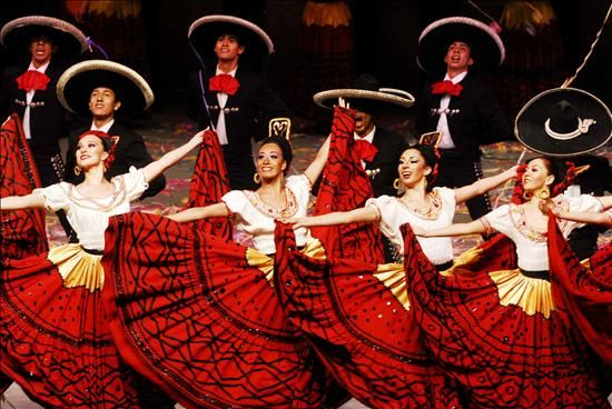 Celebrating 60 Years of Ballet Folkloric de Mexico!  F is for Folkloric