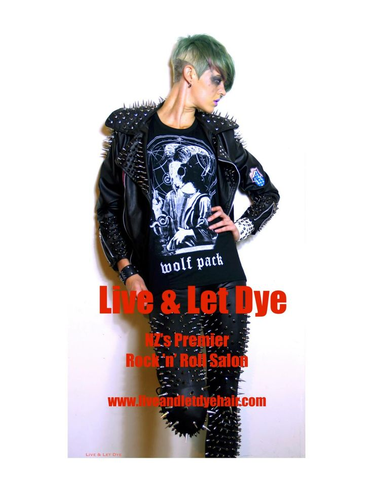 Wolf Pack Clothing Company featured for Live & Let Dye salon
