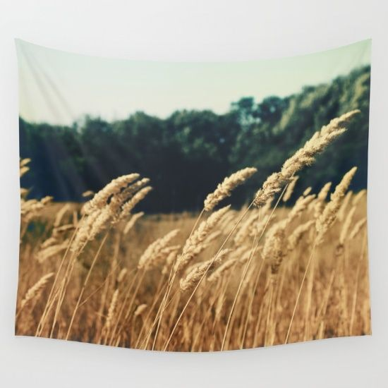 Spring Fields Wall Tapestry