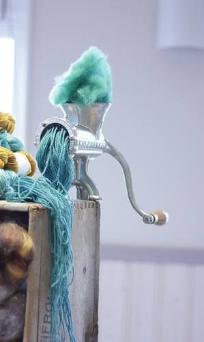 How yarn is made...if only it was that easy.
