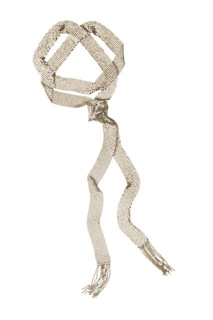 Isabel Marant H&M – sparkly thin scarf
