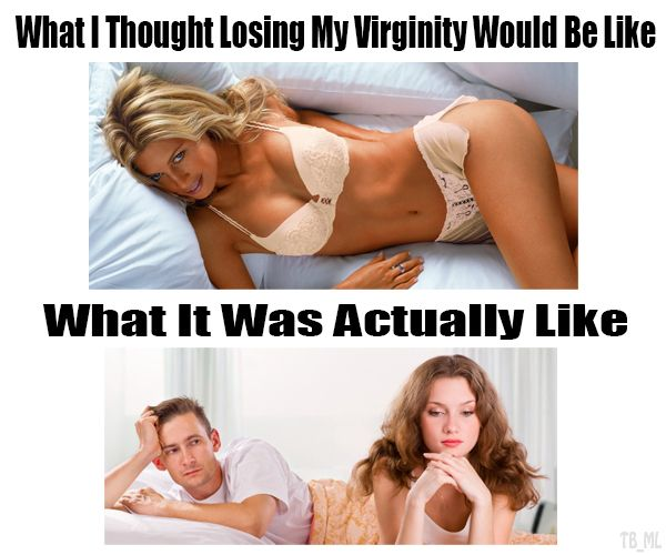 Bizarre virginity loss