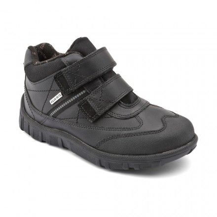Aqua Splash, Black Leather Boys Riptape Boots - Boys Boots - Boys Shoes http://www.startriteshoes.com/boys-shoes/boots/aqua-splash-black-boys-riptape-boots