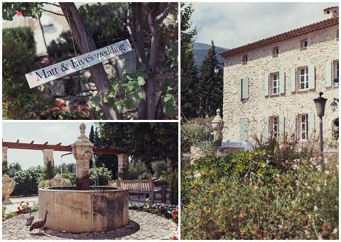 Farmhouse wedding venue in Provence © www.pichon.com/