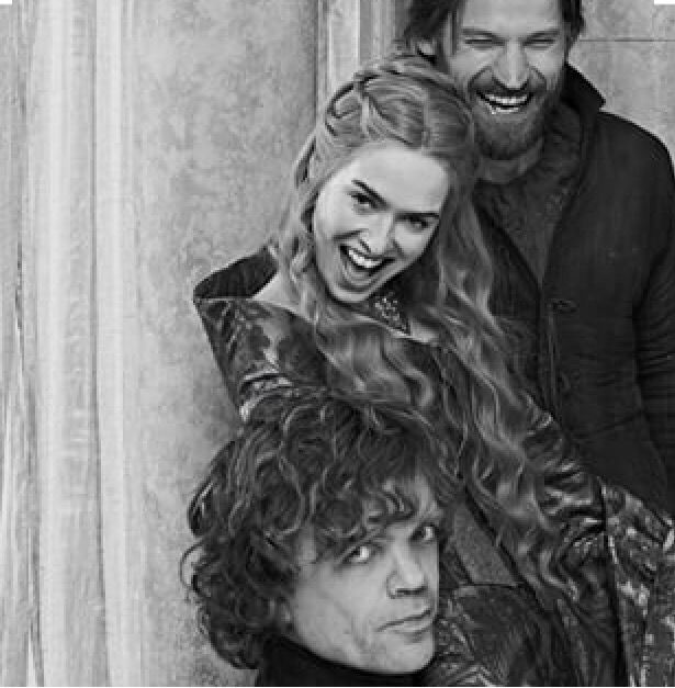 Possibly my favourite photo ever of the Lannisters. ASOIAF. Game of Thrones