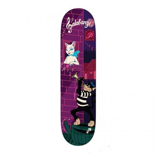 Primitive Skateboarding Primitive Bastien Salabanzi Jazz Cats Deck 8.1x31.5