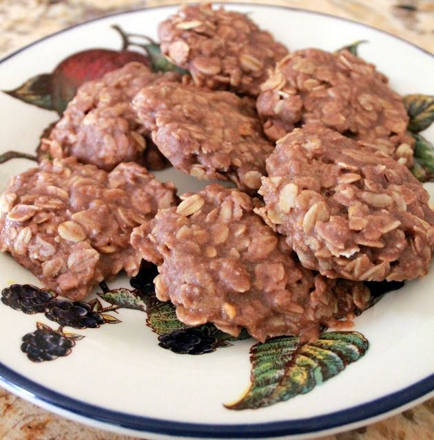 Grain Crazy: Refrigerator Chocolate Peanut Butter Protein Cookies (Raw)