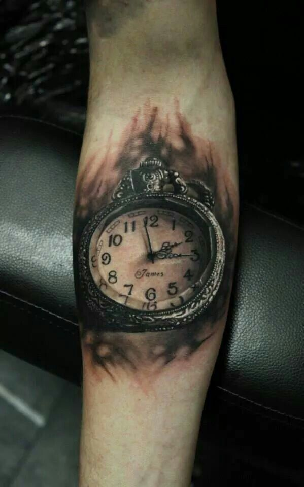 Time piece tattoos tattoos pinterest time piece for Time piece tattoos