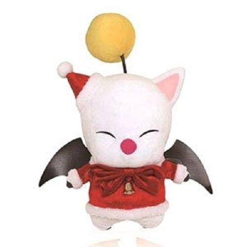 Rare FINAL FANTASY XIV Moogle Plush Stuffed Doll Christmas Ver. Square & Taito