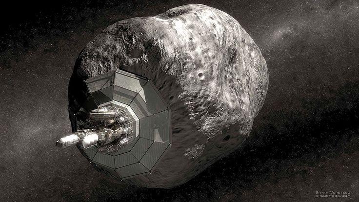 asteroid mining machinery - 966×544