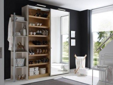 begehbarer kleiderschrank eckl sung. Black Bedroom Furniture Sets. Home Design Ideas