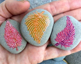 Sedona cielos / rock set de imanes de rocas 4 / por LoveFromCapeCod