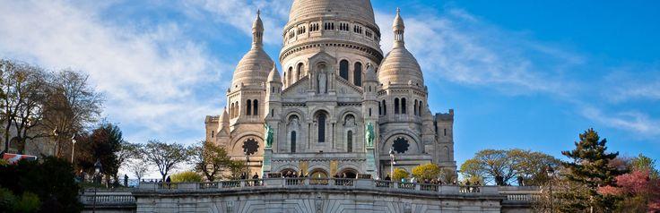 https://www.cityspotters.com De Basilique du Sacré Cœur in Parijs. Montmartre, kerk, Frankrijk, vakantie, stedentrip, citytrip, bezienswaardigheid.