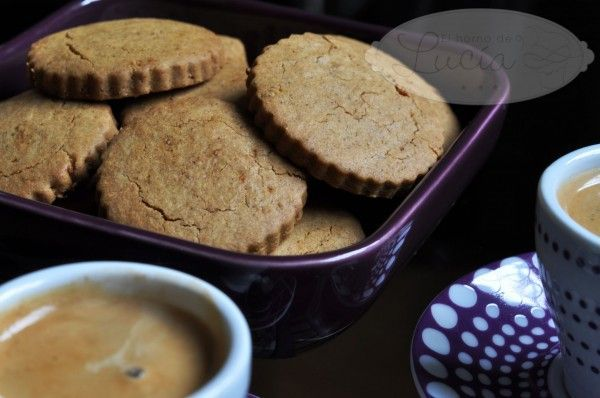 Rice Flour Cookies with cinnamon and orange -  Galletas de harina de arroz, canela y naranja