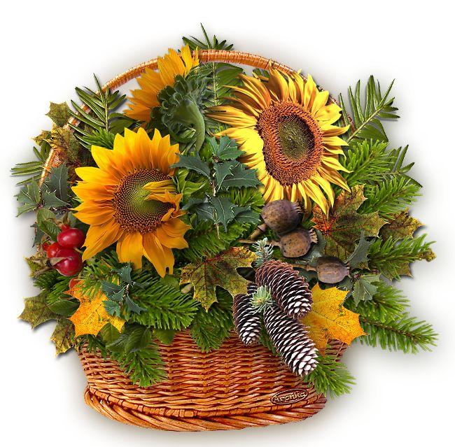 Podzimní dekorace   Tvoření