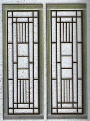 Teralis Jendela Rumah Model Minimalis Dan Besi Tempa