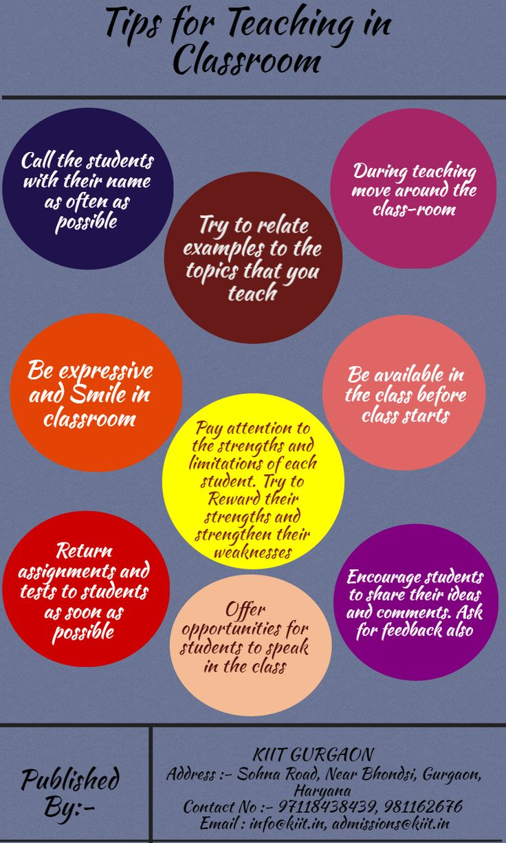 Tips for #Teaching in #Classroom