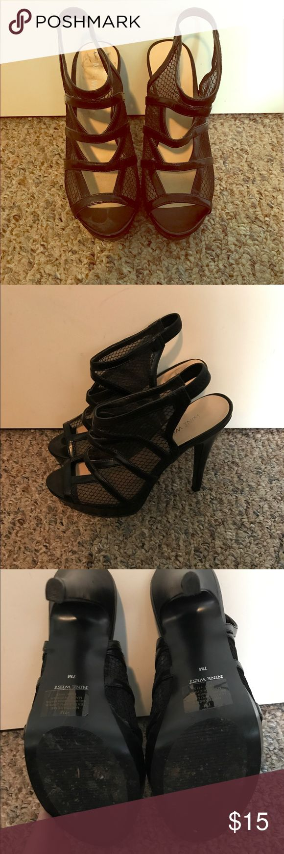 """Nine West heels 5"""" heel Nine West Shoes Heels"""