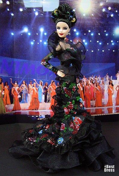 Ninimomo's Barbie.  Mediterranean and Middle East.  2009/2010  Miss Ballerianskie Island