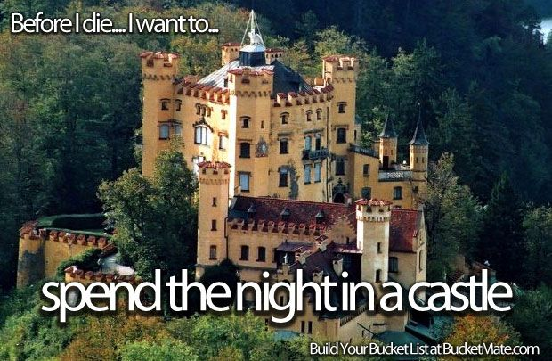 Spend the Night in a Castle