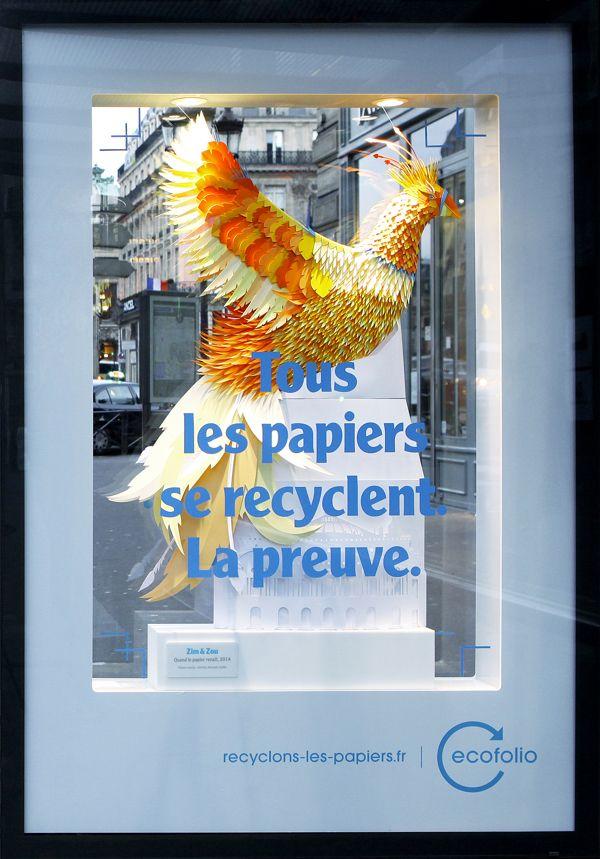 Paper Rebirth on Behance
