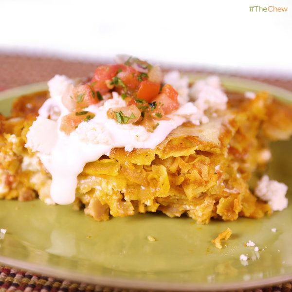 Chicken #Enchilada #Casserole by Clinton Kelly! #TheChew