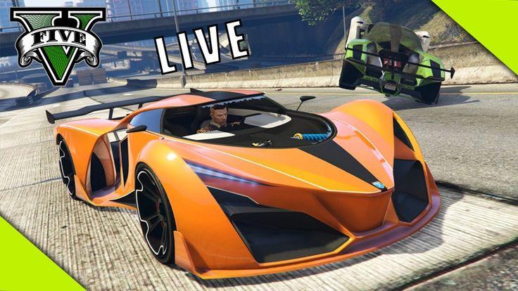LIVE GTA V Online Vem Pra Live