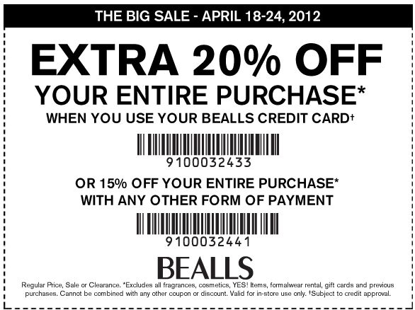 Bealls is a corporation that runs the nationwide Bealls Retail and Burkes Outlet chains. It stores offer clothing, home furnishing, swimwear, fashion accessories and various items of attire.