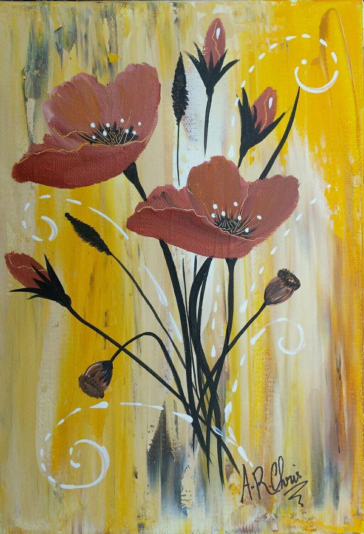 132 best mes peintures artiste raffin christine images for Peinture acrylique