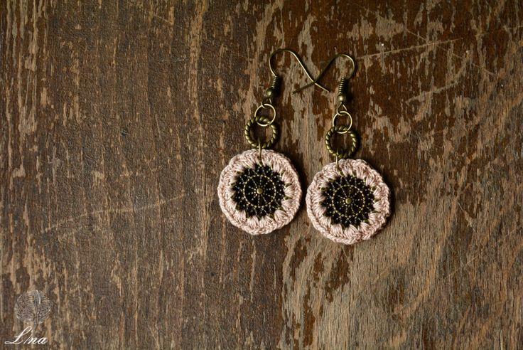 Ozana Earrings. Handmade Jewelry