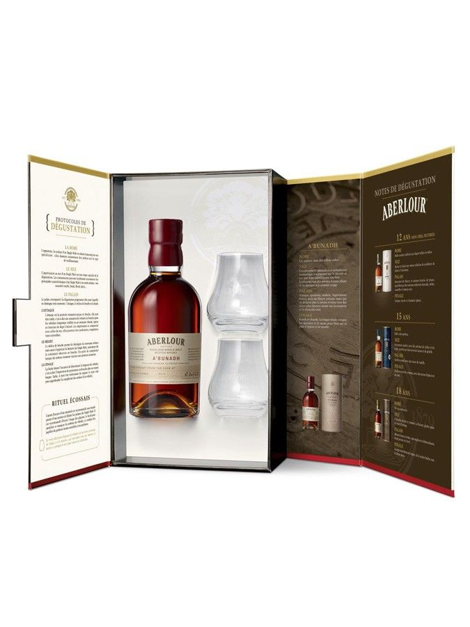 whisky aberlour a bunadh coffret 2 verres 60 7 maison du whisky a 39 bunadh pinterest as. Black Bedroom Furniture Sets. Home Design Ideas