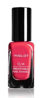 Inglot cosmetics creates breathable #halal #nailpolish.